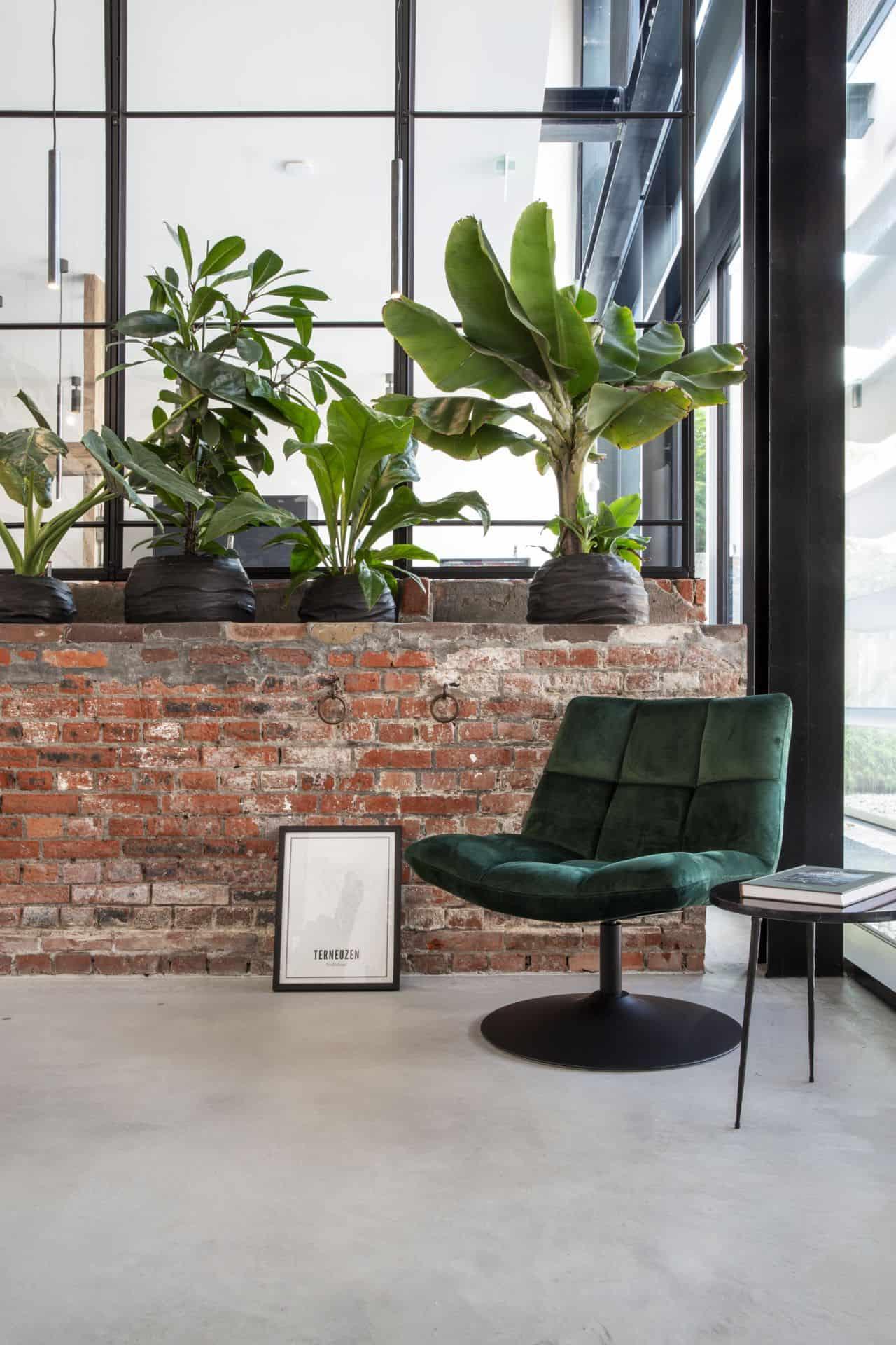 gevlinderde betonvloer, gevlinderd beton