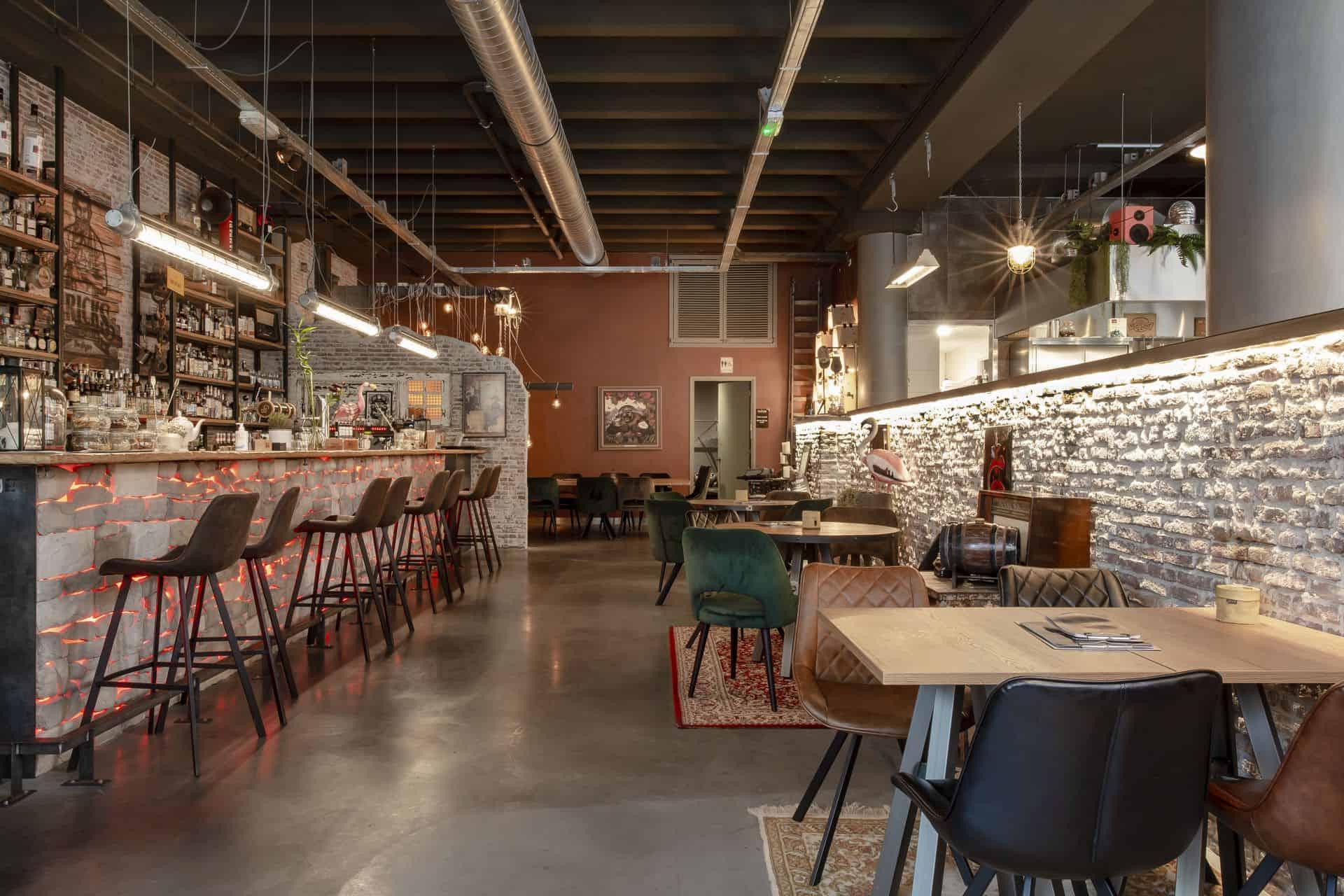 vloer restaurant, restaurantvloer, constructievloer